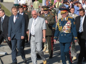 Transnistriens Präsident Igor Smirnov (Foto: Lehermayr)