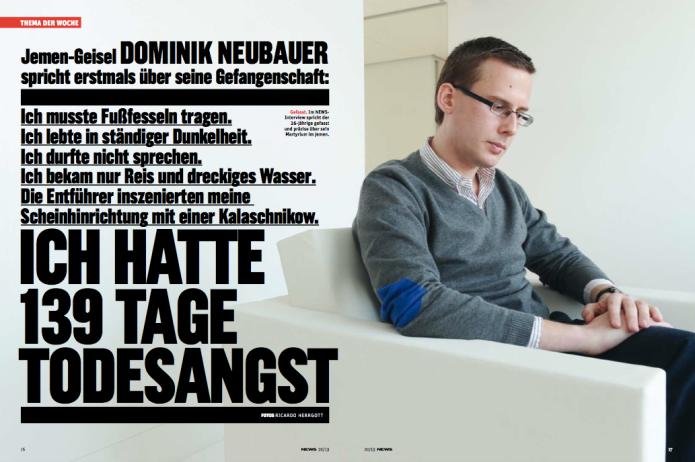 Dominik Neubauer im Interview (Foto: Ricardo Herrgott)