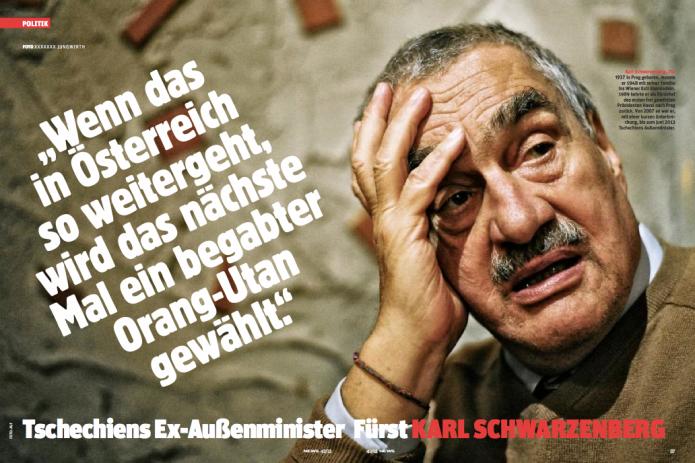 Karel Schwarzenberg (Foto: Ricardo Herrgott)