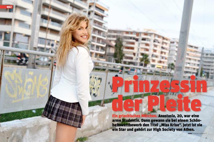 Miss Krise Anastasia (Foto: Ricardo Herrgott)