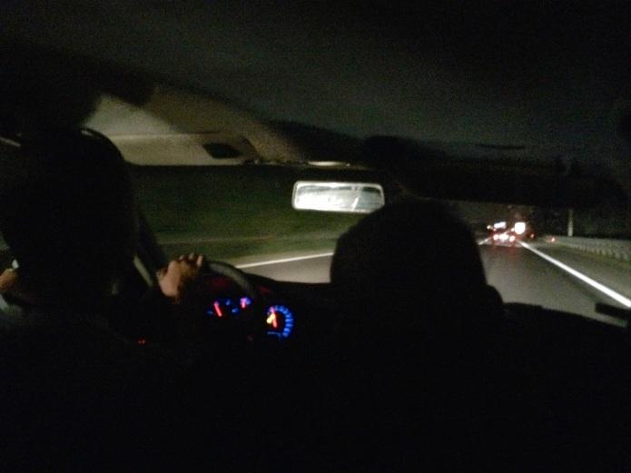 Im Schlepperauto nach Budapest